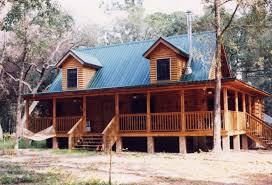 red metal roof log cabin roofing decoration
