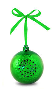 made tree tunes ornament bluetooth