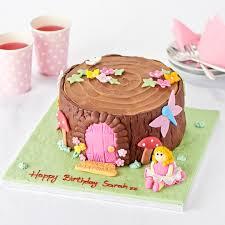easy entertaining woodland fairy cake tesco groceries