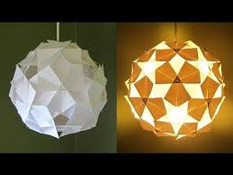 Origami Light Fixture 777 Best Lamparas Images On Pinterest Lampshades Origami