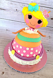 lalaloopsy cake lalaloopsy dolly varden cake cakecentral