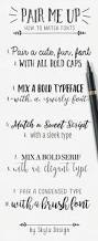 Best Font In Resume by Best 25 Mixing Fonts Ideas On Pinterest Fancy Writing