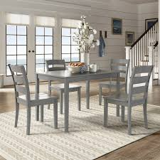 48 inch rectangular dining table wilmington ii 48 inch rectangular antique grey 5 piece dining set by