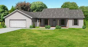 Garage Style Homes Small House Plans With Garage Small House Plan With Double Garage