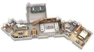 plan maison cuisine ouverte fermer une cuisine ouverte 4 d233co cuisine cagne 12 id233es