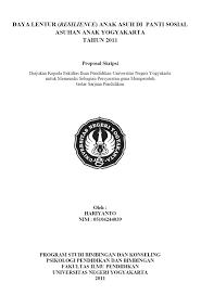 contoh membuat proposal riset proposal skripsi contoh proposal skripsi dan tesis
