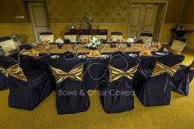 gold chair covers wedding chair covers design ideas organza bows hire simply bows