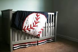 identify theme baseball crib bedding ideas home inspirations design