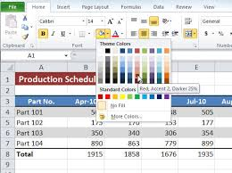 pattern fill download excel how to apply fill colors patterns and gradients to cells in excel
