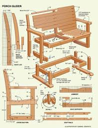 Wood Furniture Plans Pdf by 87 Best Garden Furniture Images On Pinterest Outdoor Furniture