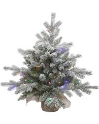 amazing deal on 2ft pre lit white frosted artificial