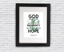 quotes inspirational poster jeremiah 29 11 motivational typography
