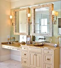 bathroom vanity mirrors lowes white framed large