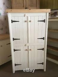 kitchen cupboard storage ideas ebay pine kitchen traditional cupboard unit pantry linen larder