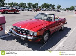 mercedes convertible mercedes convertible coupe editorial stock image image 18603754