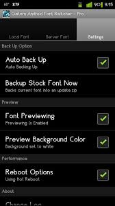 android font custom font switcher pro key android apps on play