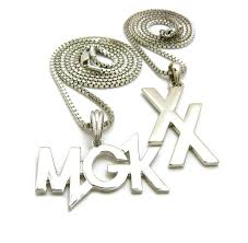 fine chain pendant necklace images New xx mgk pendant 24 quot 30 quot box chain hip hop necklace set jpg