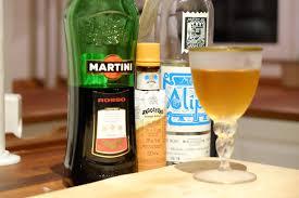 manhattan drink bottle mezcal manhattan cocktails