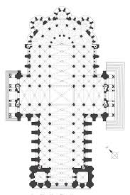 chartres cathedral plan mostly 1194 1260 french gothic plans