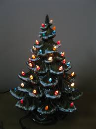ceramic lighted christmas tree vintage ceramic lighted christmas
