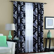 Black And White Window Curtains Product