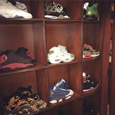 drake gives a peak at his sneaker closet sole collector