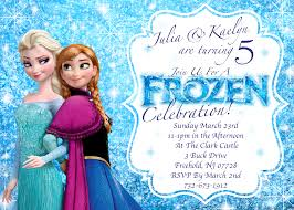 Invited Card For Birthday Create Own Frozen Birthday Party Invitations Ideas Invitations