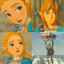 Mary Poppins Meme - im mary poppins yall breath of the wild