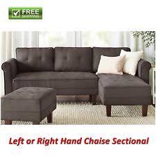 mainstays sofa sleeper mainstays sectional sofas loveseats u0026 chaises ebay