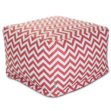 Chevron Storage Ottoman Ottoman Simple Red Ottoman Safavieh Hudson Collection Noho