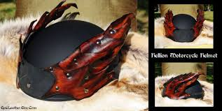 leather motorcycle helmet hellion motorcycle helmet by epic leather on deviantart