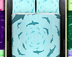 shark bedding etsy