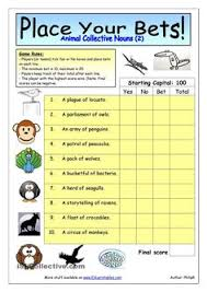 several tasks to practise collective nouns hope it helps have a