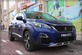 peugeot malaysia 2017 peugeot 3008 suv launched future styled carsome malaysia