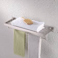 bathroom towel racks and shelves buying guide cool ideas for home