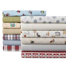 jcpenney home flannel sheet set jcpenney