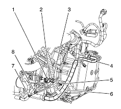 repair instructions on vehicle transmission replacement 2008