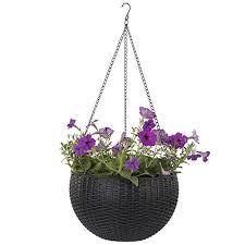 hanging planter basket plant hanger growers hanging basket indoor outdoor hanging planter