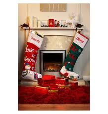 personalised extra large christmas stocking green amazon co uk