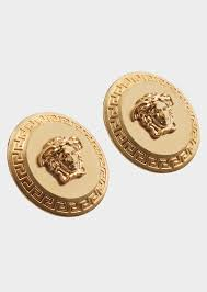 store stud earrings versace tribute medusa stud earrings for women us online store