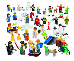 amazon com lego education community minifigures set toys u0026 games