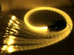 fiber optic light strands lighting 16w rgbw sparkle fiber optic light 300pcs 0mm flash point