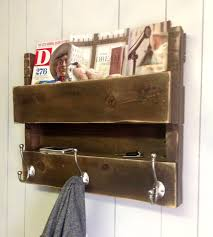Reclaimed Wood Home Decor Salvaged Wood Coat Rack U0026 Shelf Home Decor U0026 Lighting Del