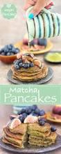 Blueberry Pancake Recipe Vegan Pancake Recipe With Matcha Healing Tomato Recipes