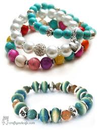 bracelet beading designs images Awesome design bead bracelet ideas 25 cool beaded bracelets jpg