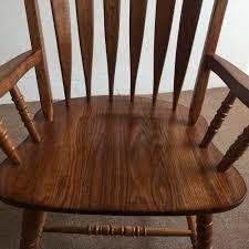 Esszimmerstuhl Eiche Ge T Amerikanischen Esszimmerstuhl Sessel Massivem Eichenholz Arrowback