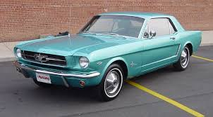 1964 1 2 mustang colors
