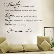 wedding quotes about family aliexpress buy free shipping family is not blood warm quote