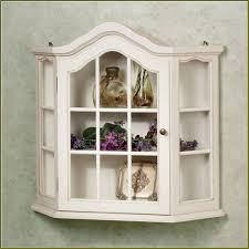 distressed white curio cabinet bar cabinet
