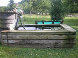 Backyard Fish Pond Kits by Pond How To Build Beautiful Above Ground Pond With Simple Design